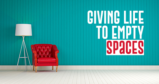 Giving Life to Empty Spaces