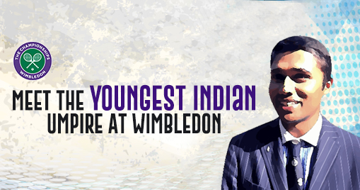 Meet The Youngest Indian Umpire At Wimbledon