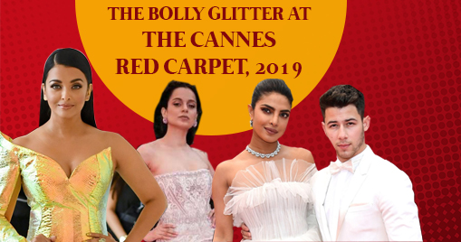 The Bolly Glitter at the Cannes Red Carpet, 2019