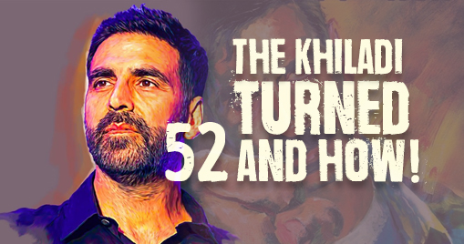 The Khiladi turned 52 and how!