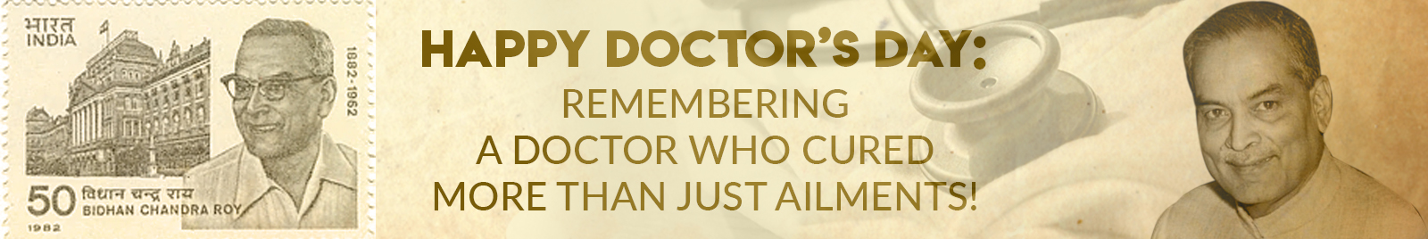 Happy Doctor's Day: Remembering a doctor who cured more than just ailments!