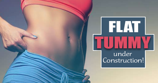Flat Tummy under Construction