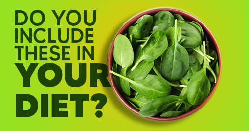 Do You Include These In Your Diet?