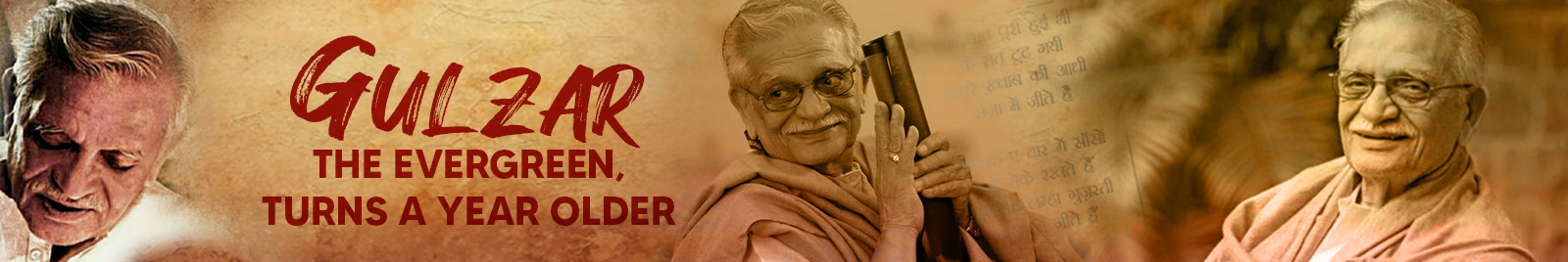 Gulzar, the evergreen, turns a year older