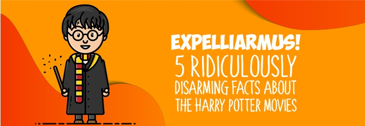 Expelliarmus! 5 Ridiculously Disarming Facts about the Harry Potter movies