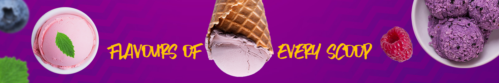 Flavours of every Scoop
