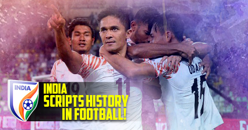 India scripts history in football!