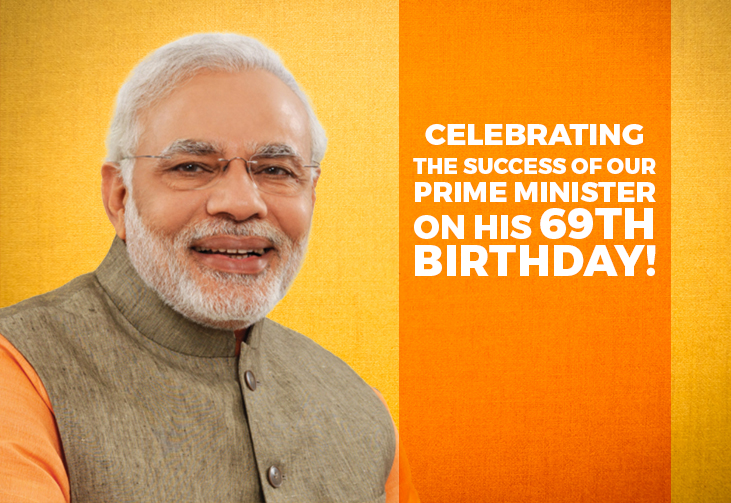 Celebrating the success of our Prime Minister on his 69th birthday!