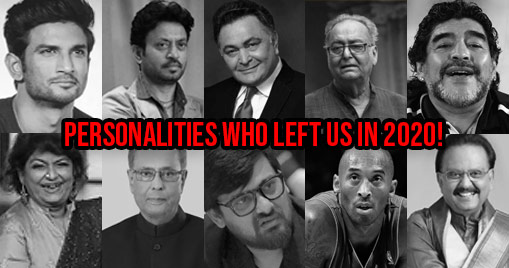 Personalities who left us in 2020!