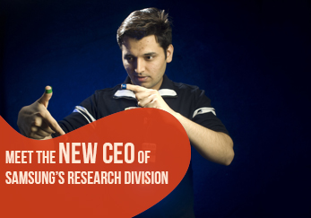 Meet the new CEO of Samsung's Research Division - Pranav Mistry!