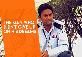 The man who didn't give up on his dreams