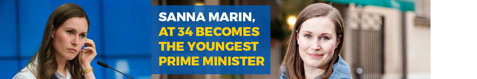Sanna Marin, at 34 becomes the youngest prime minister