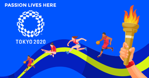 Passion lives Here: Olympic Tokyo 2021