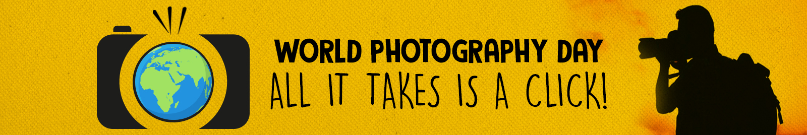 World Photography Day: All it takes is a click!