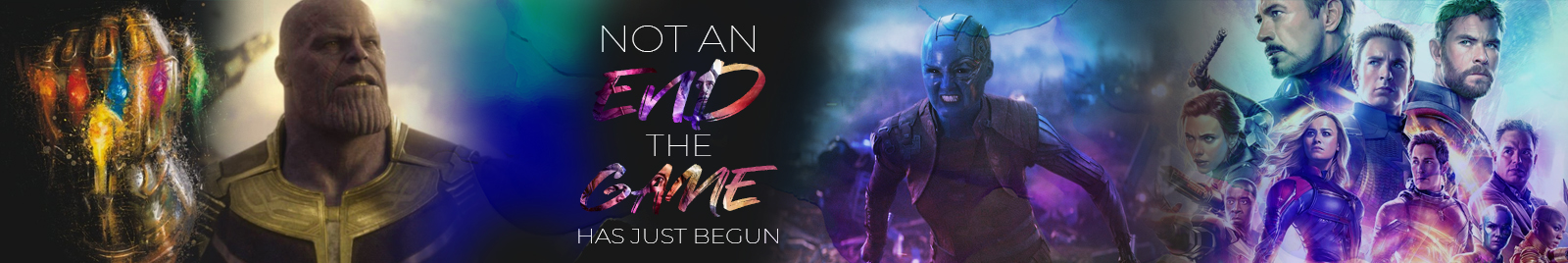 Not an 'end' - The 'Game' has just begun