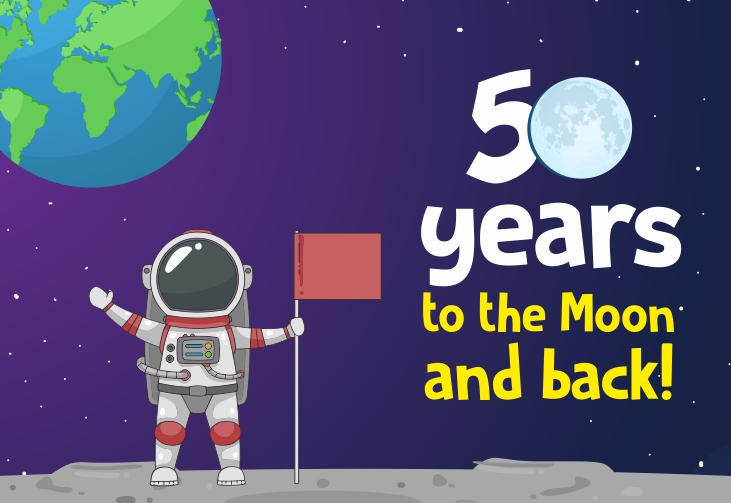 50 years to the Moon and back!
