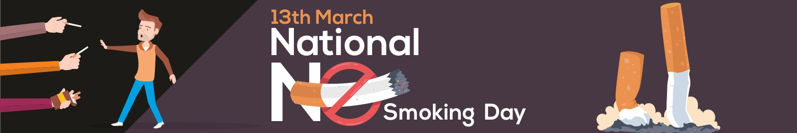 13th March- National No Smoking Day