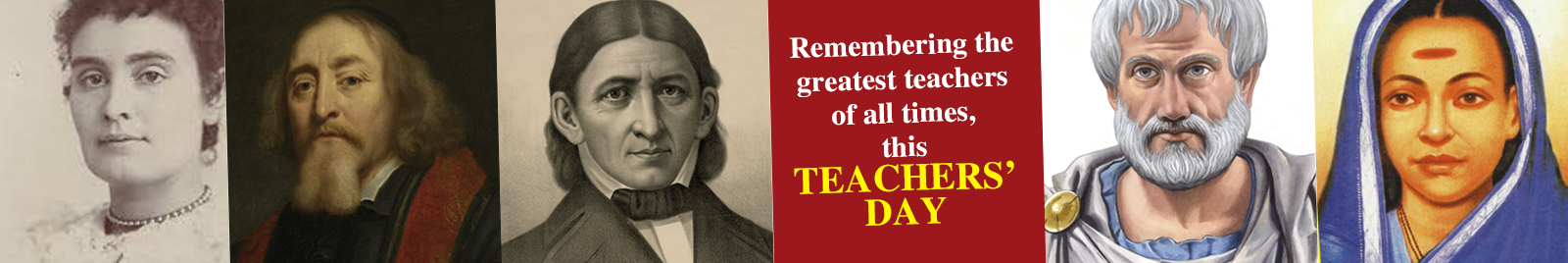 Remembering the greatest teachers of all times, this Teachers' Day