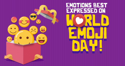 Emotions best expressed on World Emoji Day!