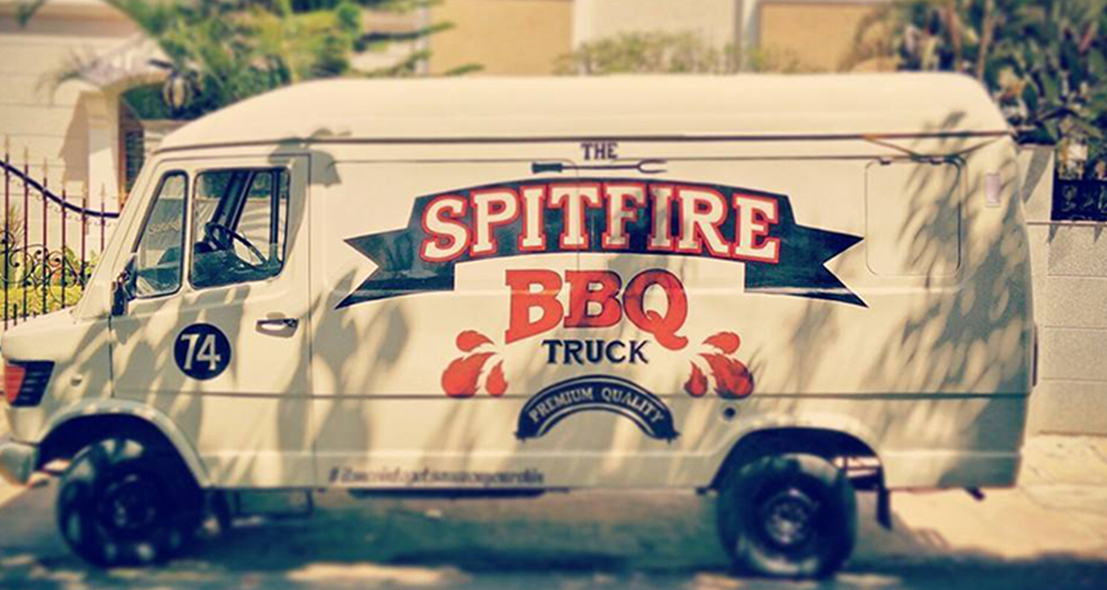 The Spitfire Barbecue Truck
