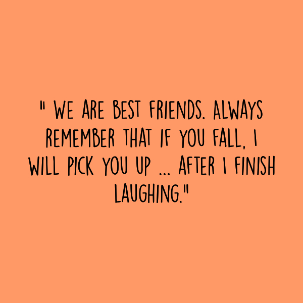 This Friendship Day, share a laugh!