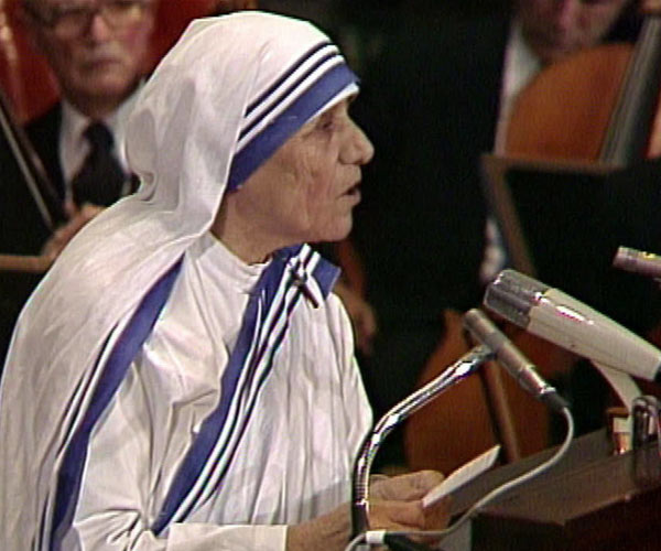 """""""A life not lived for others is not a life."""": Mother Teresa"""