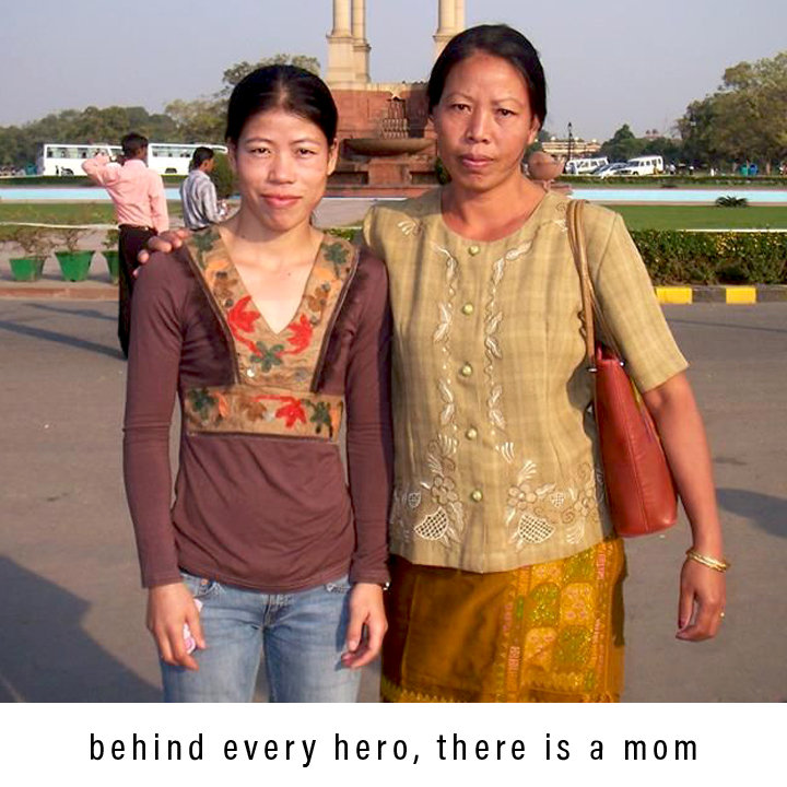 Behind Every Hero, There is a Mom