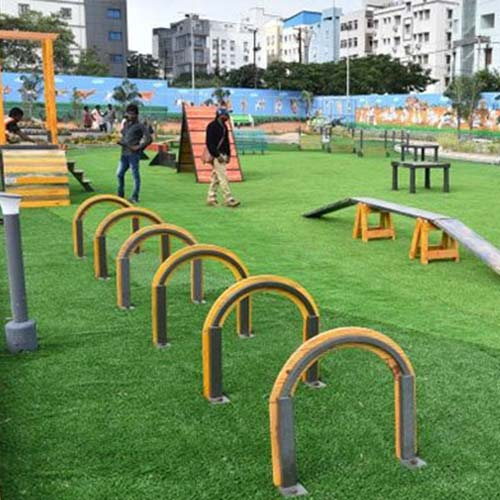 Woof! India's first ever dog park!