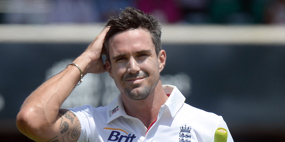 Kevin Pietersen with his lovely smile
