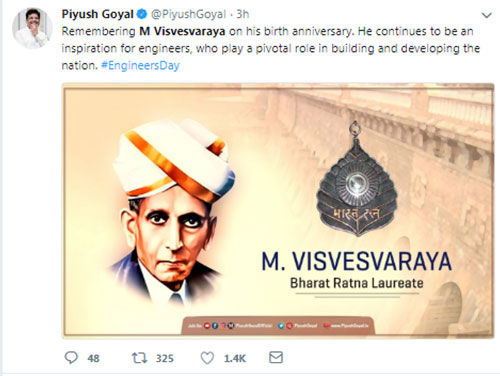 Sir M Visvesvaraya-India's Engineer and Statesman
